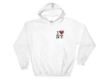 I Banksy New York Life Hooded Sweatshirt