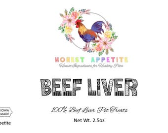 Beef Liver Pet treats