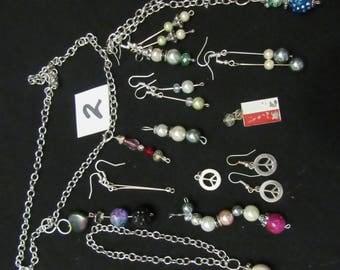 Terri hand craft jewelry