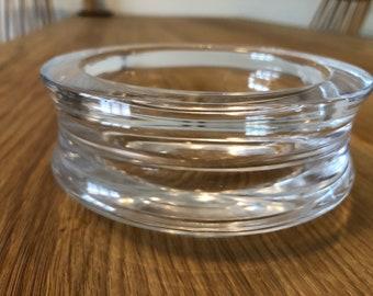 Kosta Sweden Art Glass Bowl Early Mona Morales-Schildt Vintage