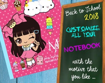 Linings for notebooks, school liners, book liners
