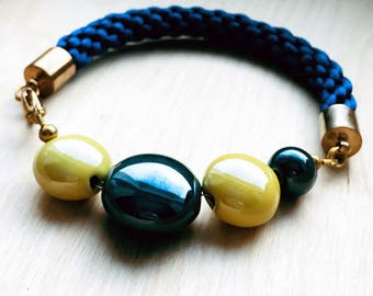 Bracelet (Blue/Yellow)