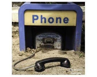 Buried Phonebox CARD
