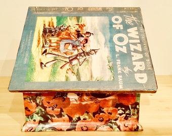 Wizard of Oz Book Birdhouse