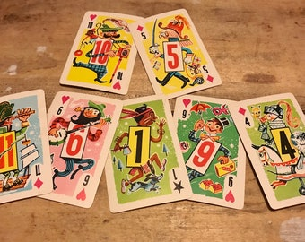 Around the World Vintage Playing Cards