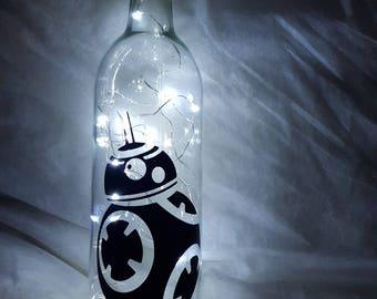 Star Wars Themed LED Bottle Lamp