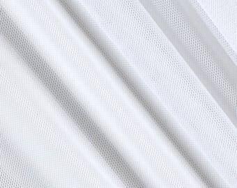 Katie WHITE English Netting Fabric by the Yard - 10067