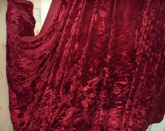 Maroon ice crush  stretch velvet, price 1 meter