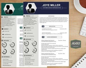 Professional RESUME template/ CV template/ Resume templates Design/ +cover letter/CV templates Creative resume