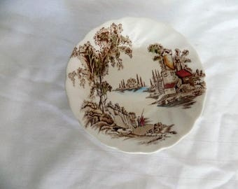 The Old Mill fruit bowl Johnson Brothers Made in England