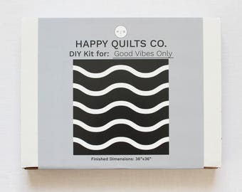 Good Vibes Only - DIY Quilt Kit