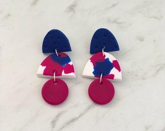 Dangle earrings - 'Christie'