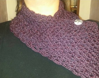 Free shipping....Beautiful  soft cowl/neck warmer