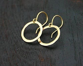 Golden Circle Earrings