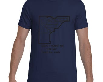 Tattlin' gun  t-shirt