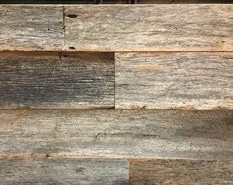 Reclaimed Gray Barnwood for Walls/Ceilings