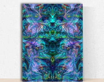 Nirvana Trance - Instant Download Psychedelic Poster
