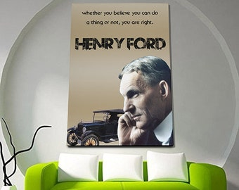 Henry Ford Poster or Canvas