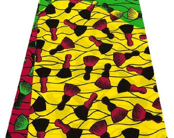 Tricoxgh High quality African Wax Print Cloth, Ankara Cloth , Dashiki Cloth , Tribal Cloth, African Fabric , Ankara Fabric, Dashiki Fabric