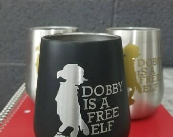 DOBBY stainless steel wine glass