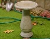 "Miniature 1"" Scale Bird Bath (1/12 Dollhouse Garden Item)"