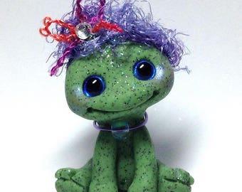 "Pretty Frog Trollfling Troll girl ""Stacie"" by Amber Matthies"
