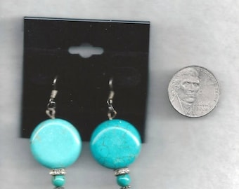 ON SALE Turquoise Earrings