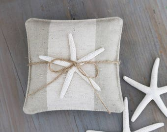 Neutral Lavender Sachets, Modern Style, Beach Cottage Decor