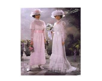 Edwardian Wedding Gown Titanic Dress Simplicity 5943 Sewing Pattern Size 14 - 16 - 18 - 20 Bust 36 - 38 - 40 - 42 UNCUT
