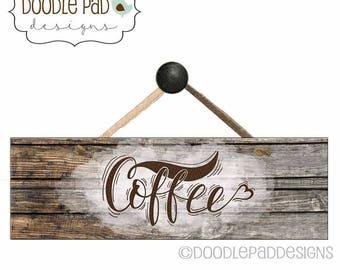 Coffee Sign Decor, Coffee Wall art, Farmhouse Decor