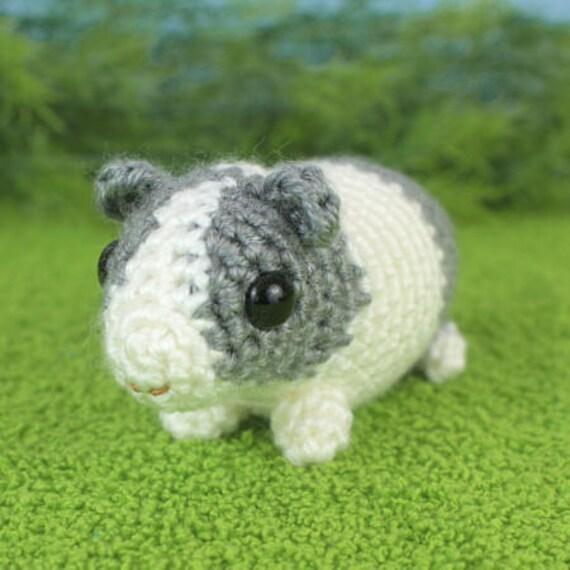 Amigurumi Baby Guinea Pig : PDF Baby Guinea Pigs - four amigurumi guinea pig CROCHET ...