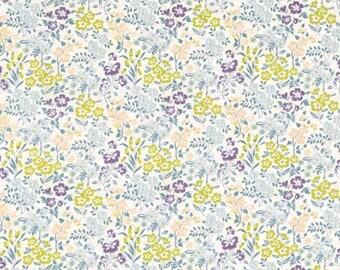 Japanese Fabric flower garden - cotton lawn - B - 50cm
