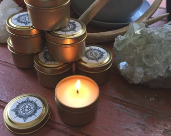 Amber + Tobacco//Soy candle//Signature Scent//Gardenia//Rose//Tonka bean//Golden light//Twin flame//Wedding gift//Wedding style inspiration