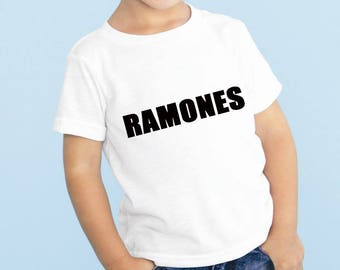 Ramones Baby or Toddler Gift Set T-Shirt & Optional Gift Box