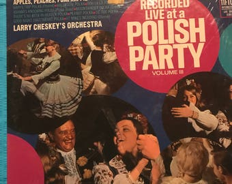 Recorded live at Polish Party LP Record