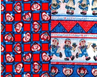 Raggedy Ann And Andy Sampler Fabrics