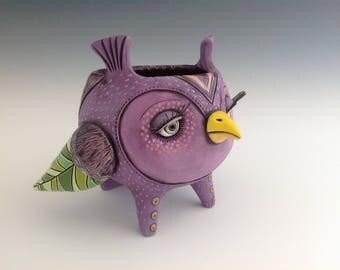 Purple Owl Cup