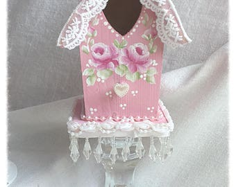 Special Order Listing for Jennie Lee Sweet PINK BIRDHOUSE