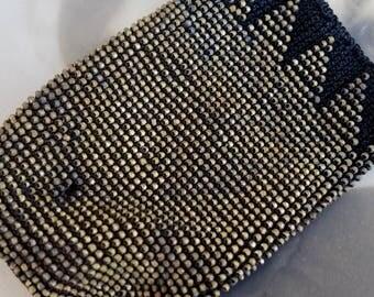 Antique Beads Brass Salvage Purse Repair
