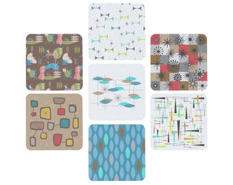 1 Design - 6pk of Paper Coasters w/ Free US Priority Shipping You Choose the Design