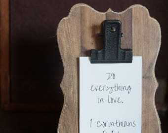 Mini Verse of the Week Clip Frame - Free Shipping - Scripture memory - Sunday School - Bible