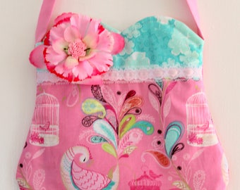 Fancy Peacock purse, girls purse, toddler purse,