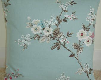 "24x24 Pillow Cover Decorative 24"" Cushion Sham Case Slip Pillowcase Pink Beige Blossom Duck Egg Blue 24""x24"" Large"