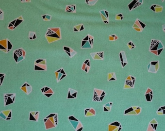 SALE 3 YARDS Quilt Cotton Fabric ~ Erin McMorris Intermix Helix in Mint