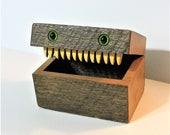 Creature Treasure Box Made Of Antique Barn Wood