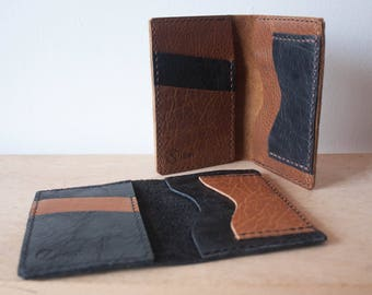 Short Wallet / Minimalist Leather Wallet / Mens Wallet / Womens Wallet / Personalized Wallet / Leather Wallet / Tall Wallet / Monogrammed