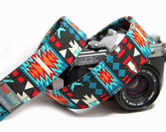 Tribal Camera Strap - Southwestern Strap - The Pueblo