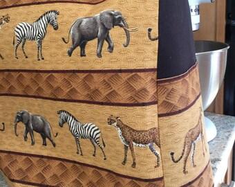 Cover for Tilt Head Stand Mixer 4.5 and 5 Quart Leopard, Zebra, Elephant African animals