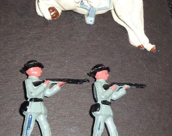 revolutionary war metal soldiers american or british