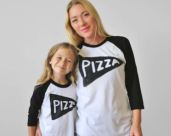 Matching Pizza Shirts, father son matching, dad baby matching, mommy and me outfit, family christmas shirts, dad gift from kids for women